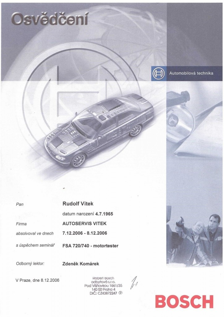 Certifikát 4